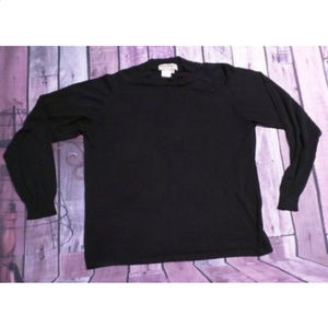 Vintage Norm Thompson Silk Sweater Escape from the